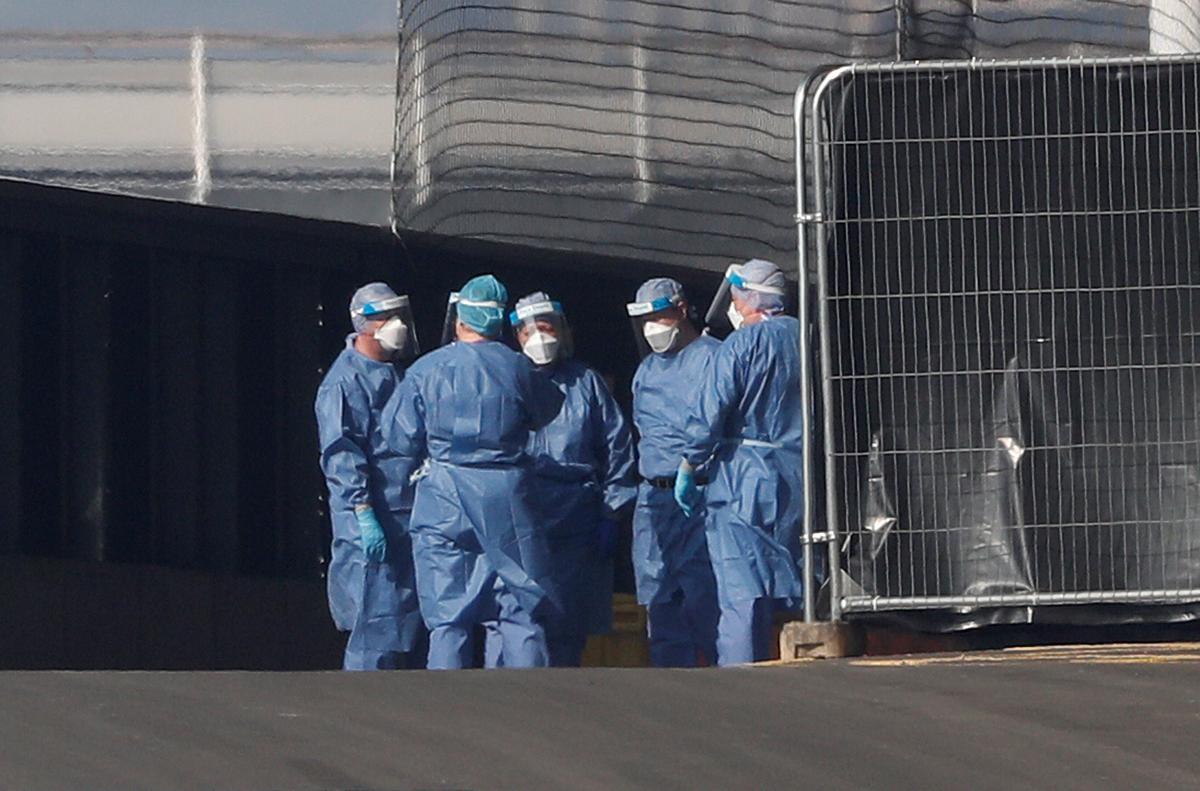 England's coronavirus hospital death toll rises by 866 to 8,114