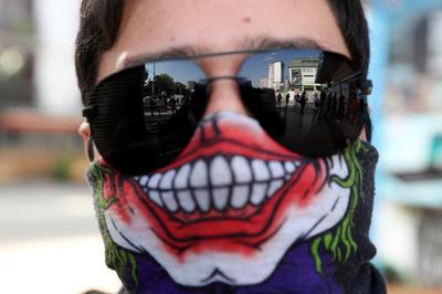 Coronavirus couture: Custom face masks around the world