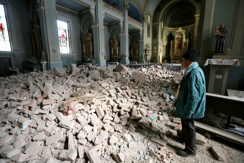 Zagreb Earthquake Caused 6 Billion Of Damage Minister Reuters Com