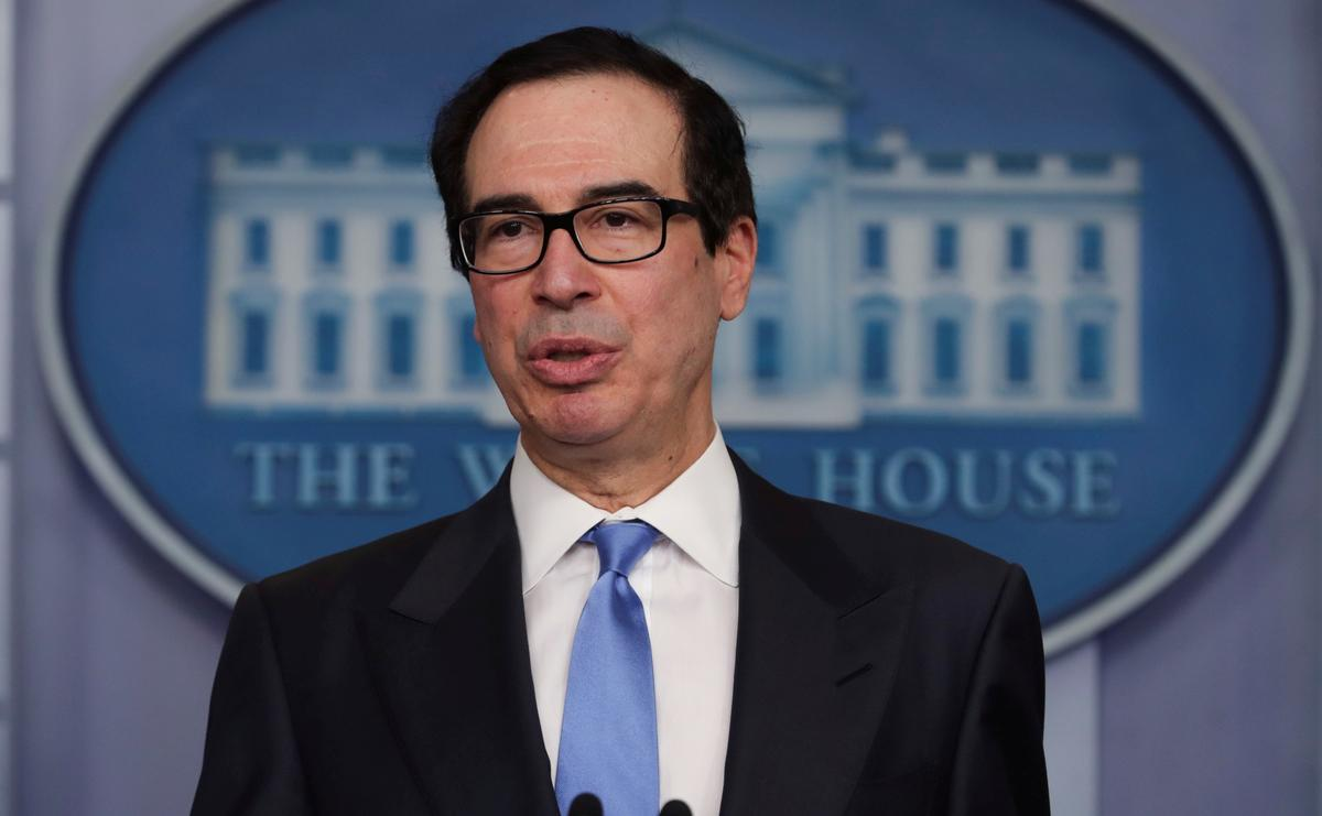U.S. weighs taking stakes in U.S. energy companies, other options: Mnuchin