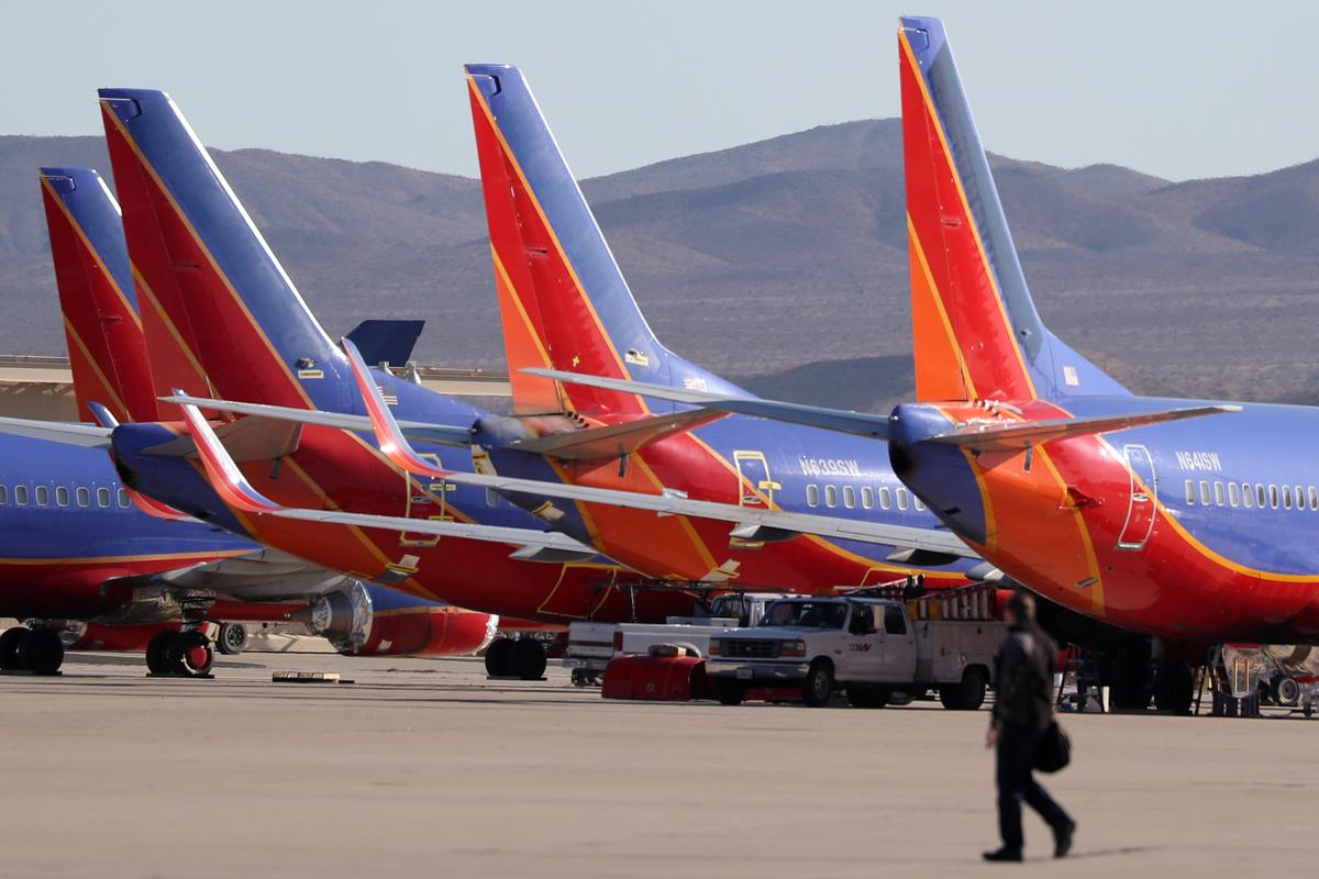 Southwest cuts Boeing jet deliveries after first quarterly loss in nine years