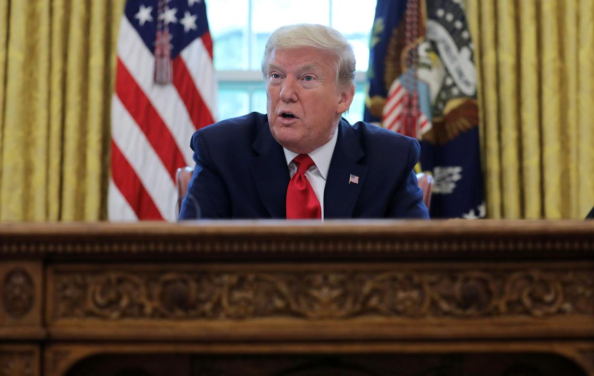 Exclusive: Trump says China wants him to lose his bid for re-election
