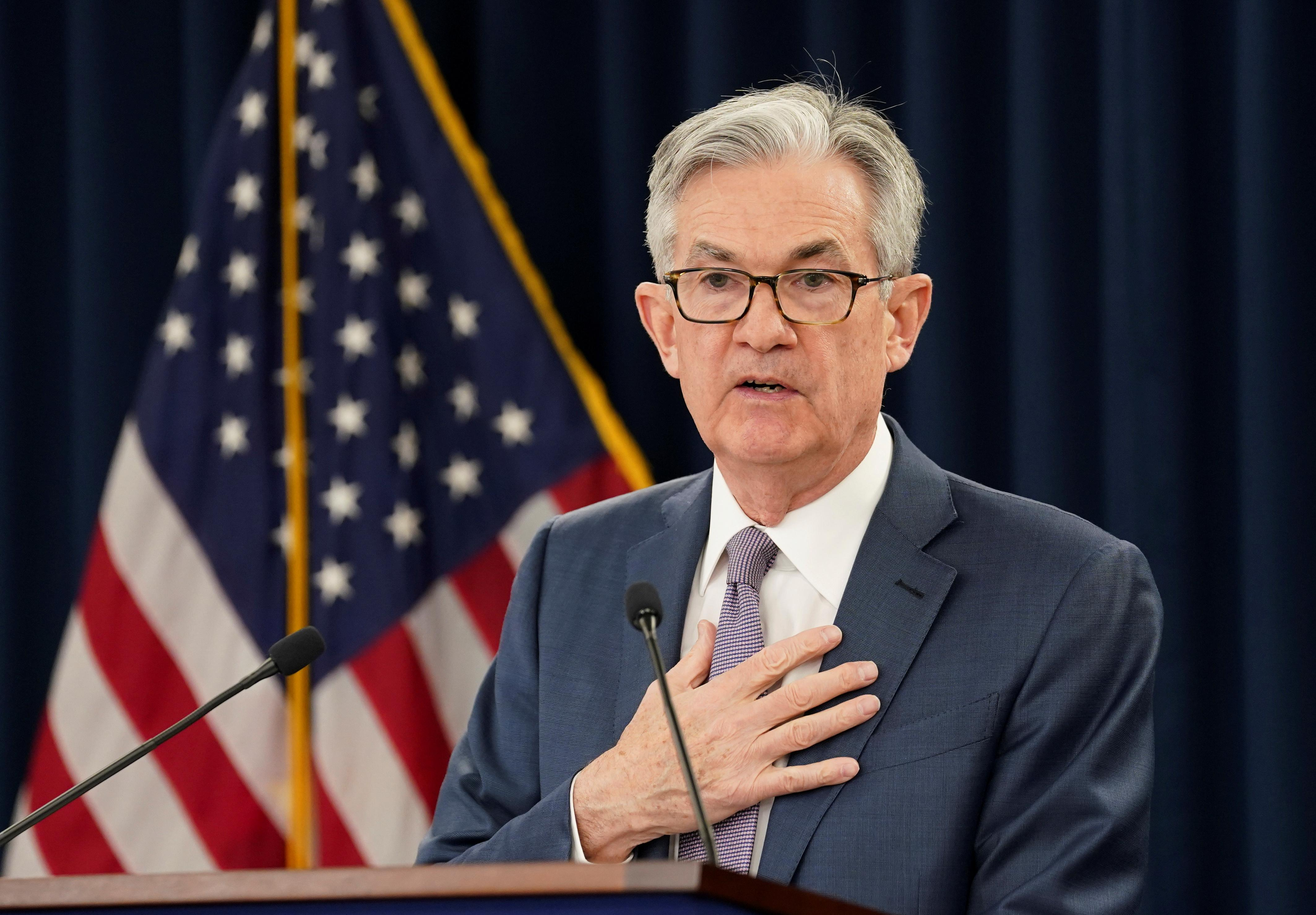 'W-shaped' recovery may be too optimistic, Fed's Powell suggests