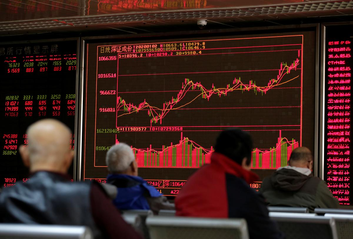 Asian shares up as U.S., China trade negotiators talk