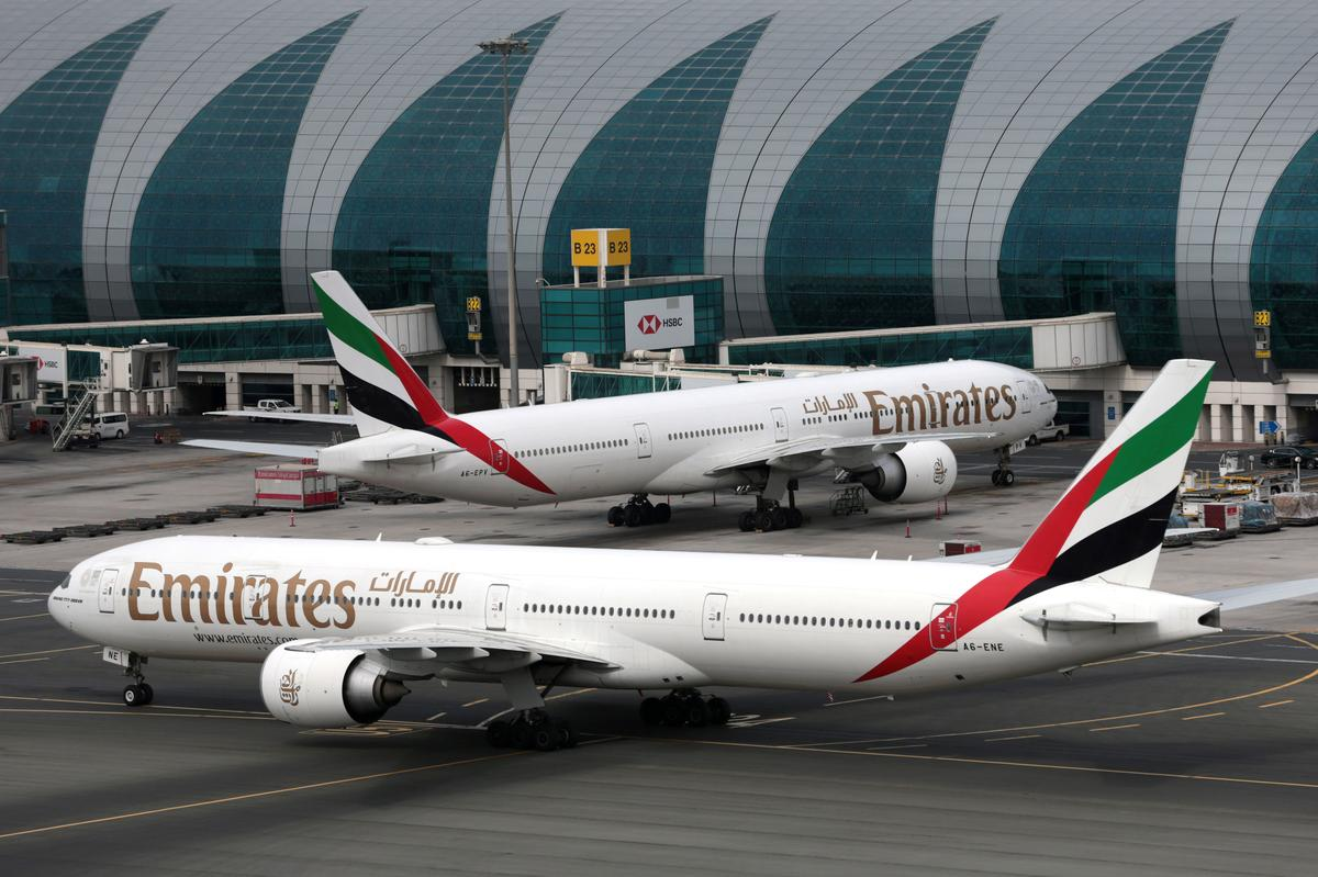 Emirates airline reports rise in annual profit, coronavirus hits final quarter