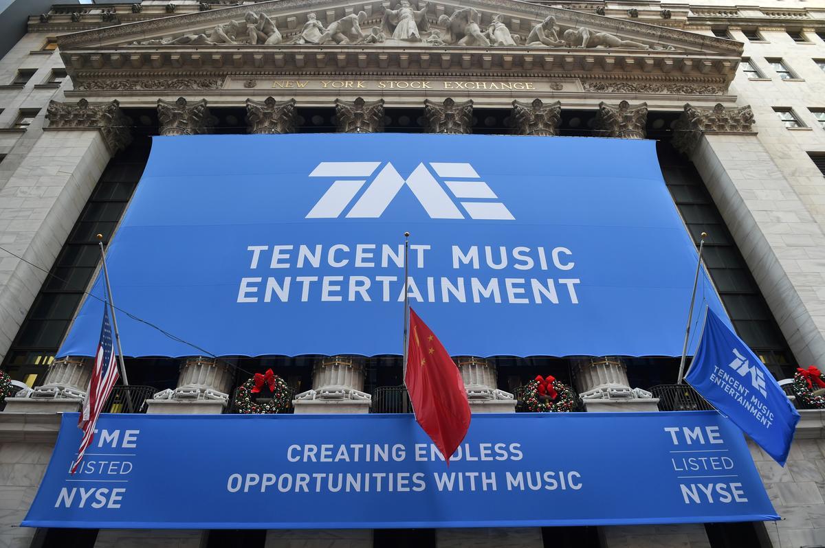 Tencent Music misses first-quarter revenue estimates, shares fall