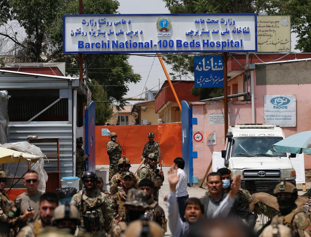 Newborns among 16 dead in Kabul hospital attack; 24 killed in funeral bombing