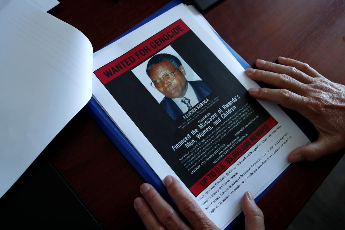 Children of Rwandan genocide fugitive Kabuga led police to Paris-area hideout