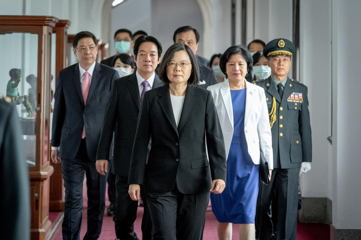 Taiwan president rejects Beijing rule; China says 'reunification' inevitable