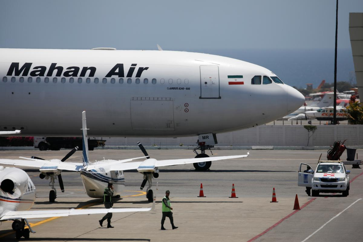 U.S. blacklists Chinese logistics firm over business with Iran airline