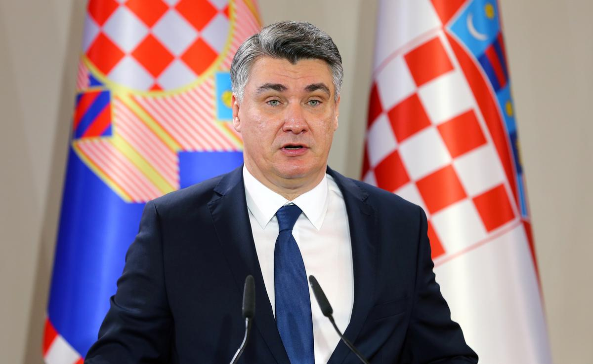 Croatia president calls parliamentary election for July 5