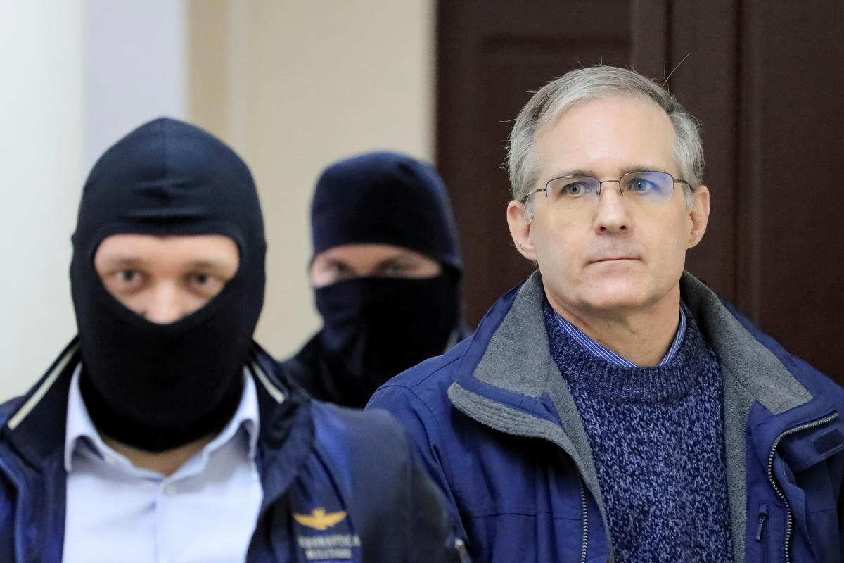 Russia seeks 18-year jail term for ex-U.S. Marine accused of spying
