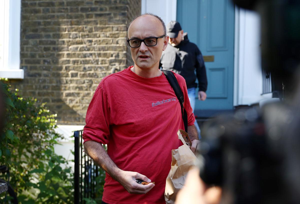 British PM's adviser defies calls to quit over accusations of flouting lockdown