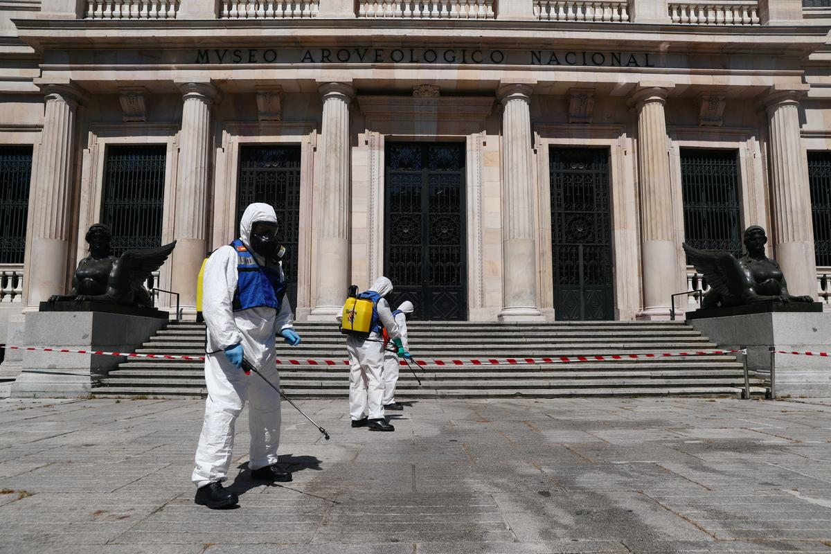Spain reports 50 coronavirus deaths, total at 26,834