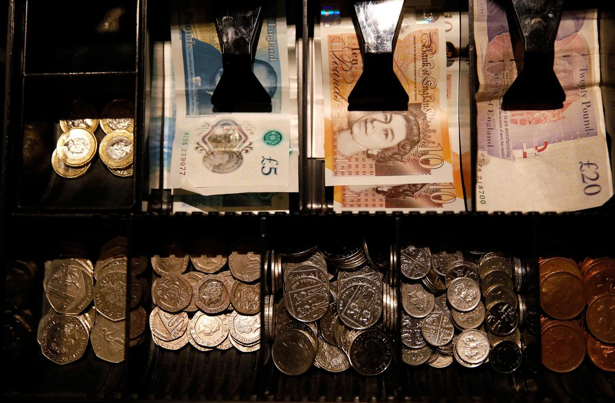 Beleaguered sterling heads into a perfect storm