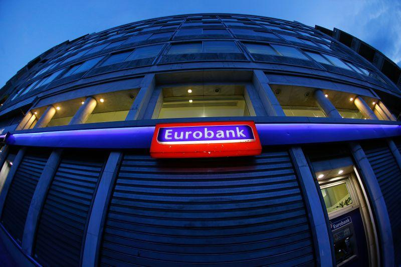 Greece's Eurobank more than doubles first-quarter profit as loan-loss provisions drop