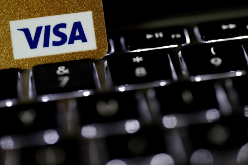 Visa sees recovery in U.S. payments volume in May