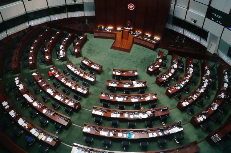 UPDATE 1-Hong Kong legislature starts voting on China national  anthem bill