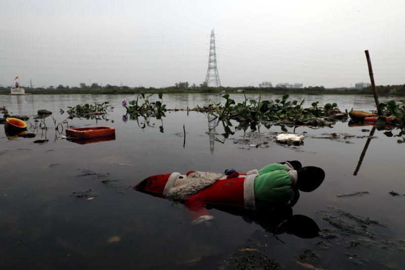 India's Yamuna river regains sparkle as virus lockdown banishes waste