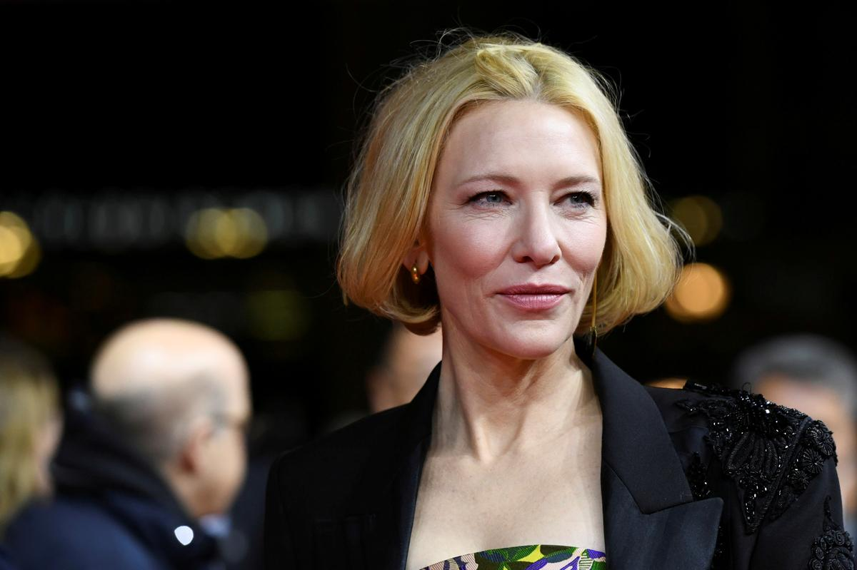 Cate Blanchett reveals 'a little bit of a chainsaw accident'