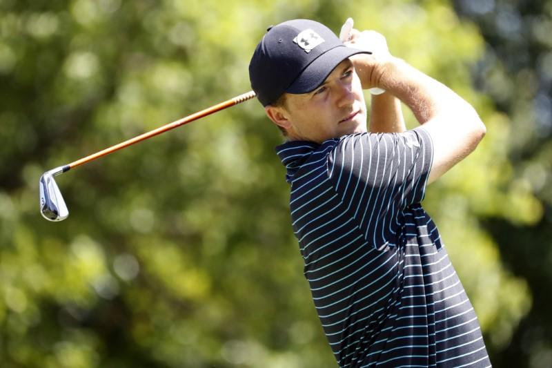 Golf: Spieth keeps his cool to overcome hiccup at Colonial