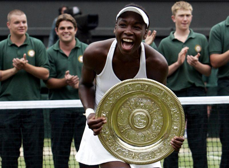 On this day: Born June 17, 1980: Venus Williams, American tennis player