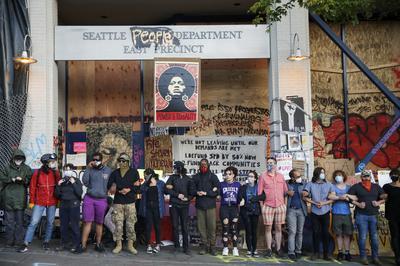 Inside Seattle's autonomous protest zone