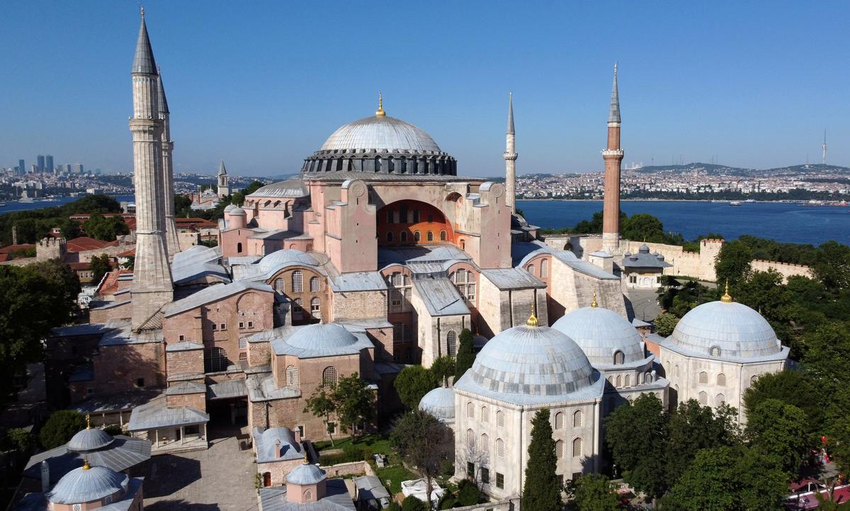 Turkey Threatens to Reconvert Hagia Sophia Into Mosque