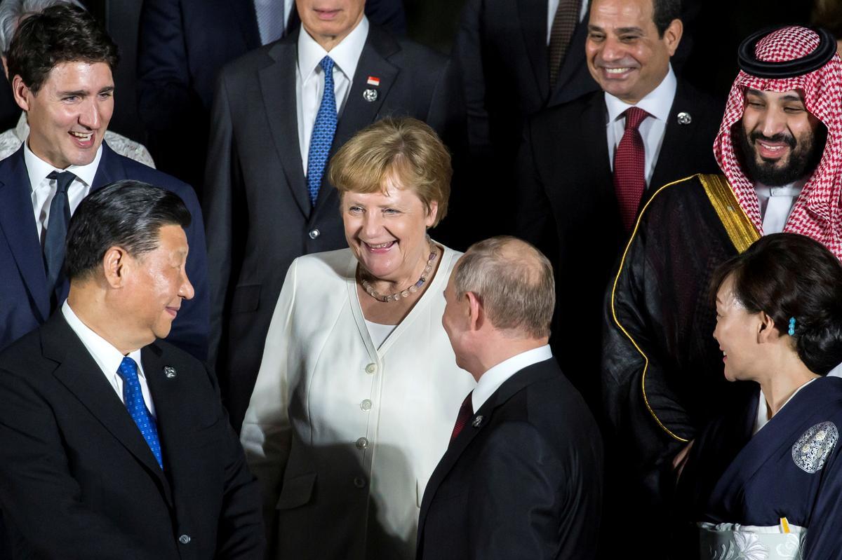 Germany fears erosion of Hong Kong's autonomy, Merkel says