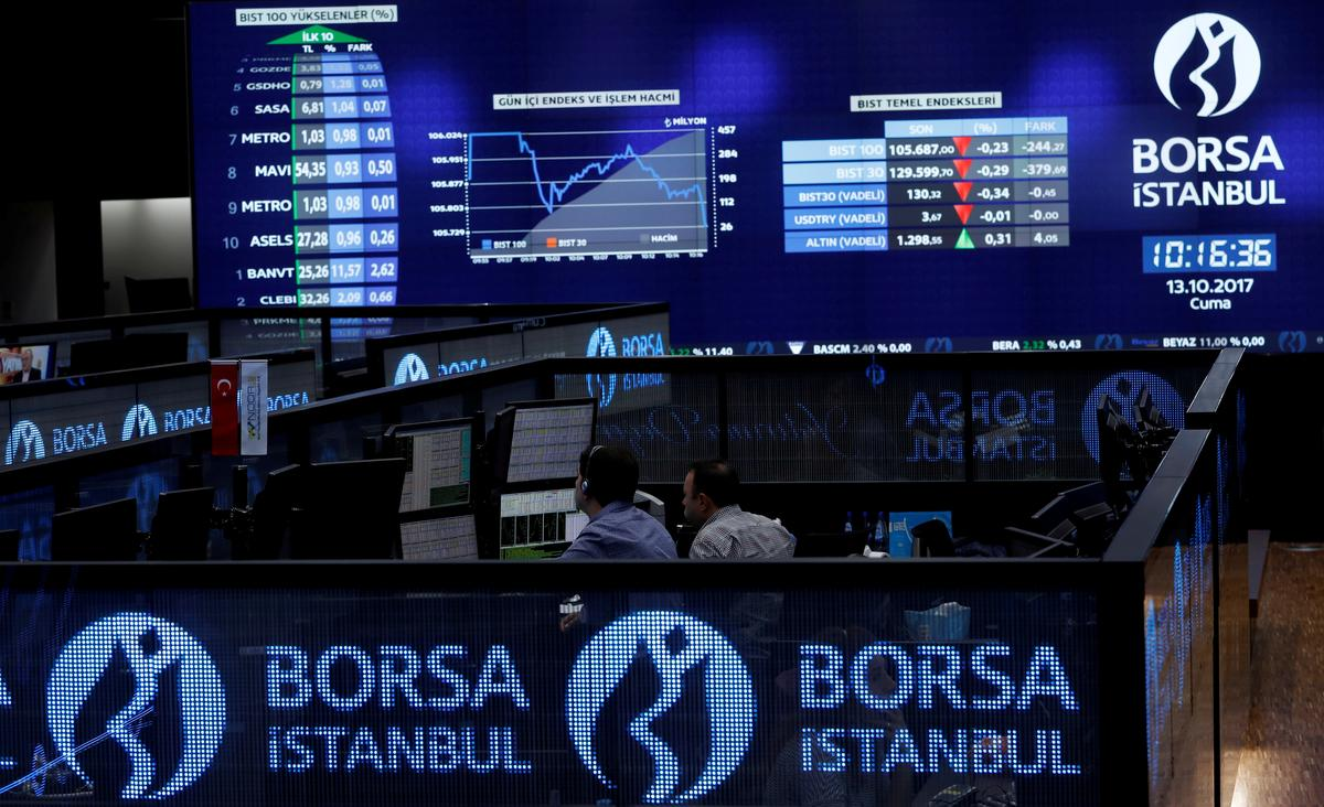 Istanbul exchange applies short selling ban on six institutions
