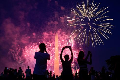America celebrates the Fourth of July