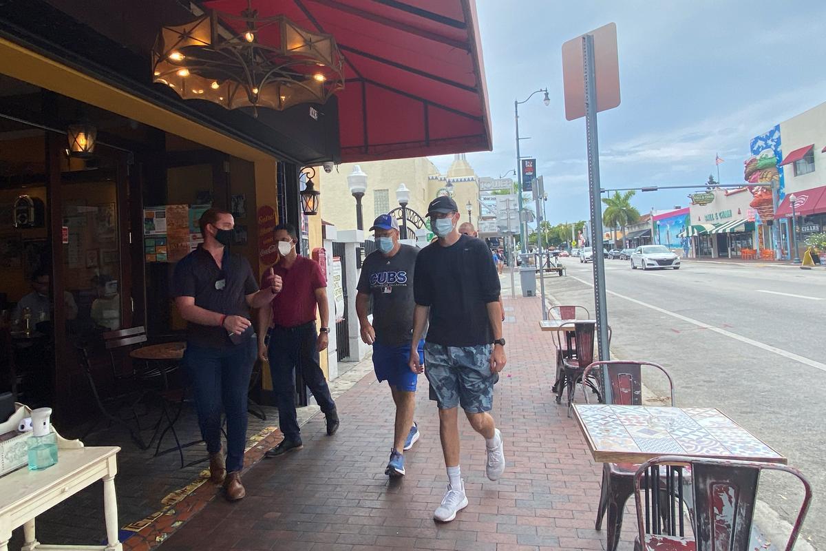 Miami rolls back restaurant dining as U.S. coronavirus deaths top 130,000
