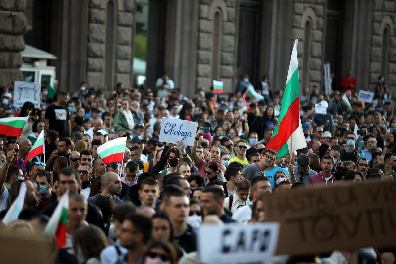 Bulgarian anti-graft protests want Borissov's government out - Reuters