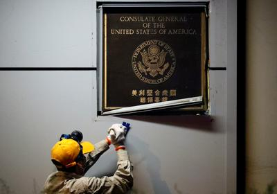 China seizes U.S. consulate in Chengdu, retaliating for Houston