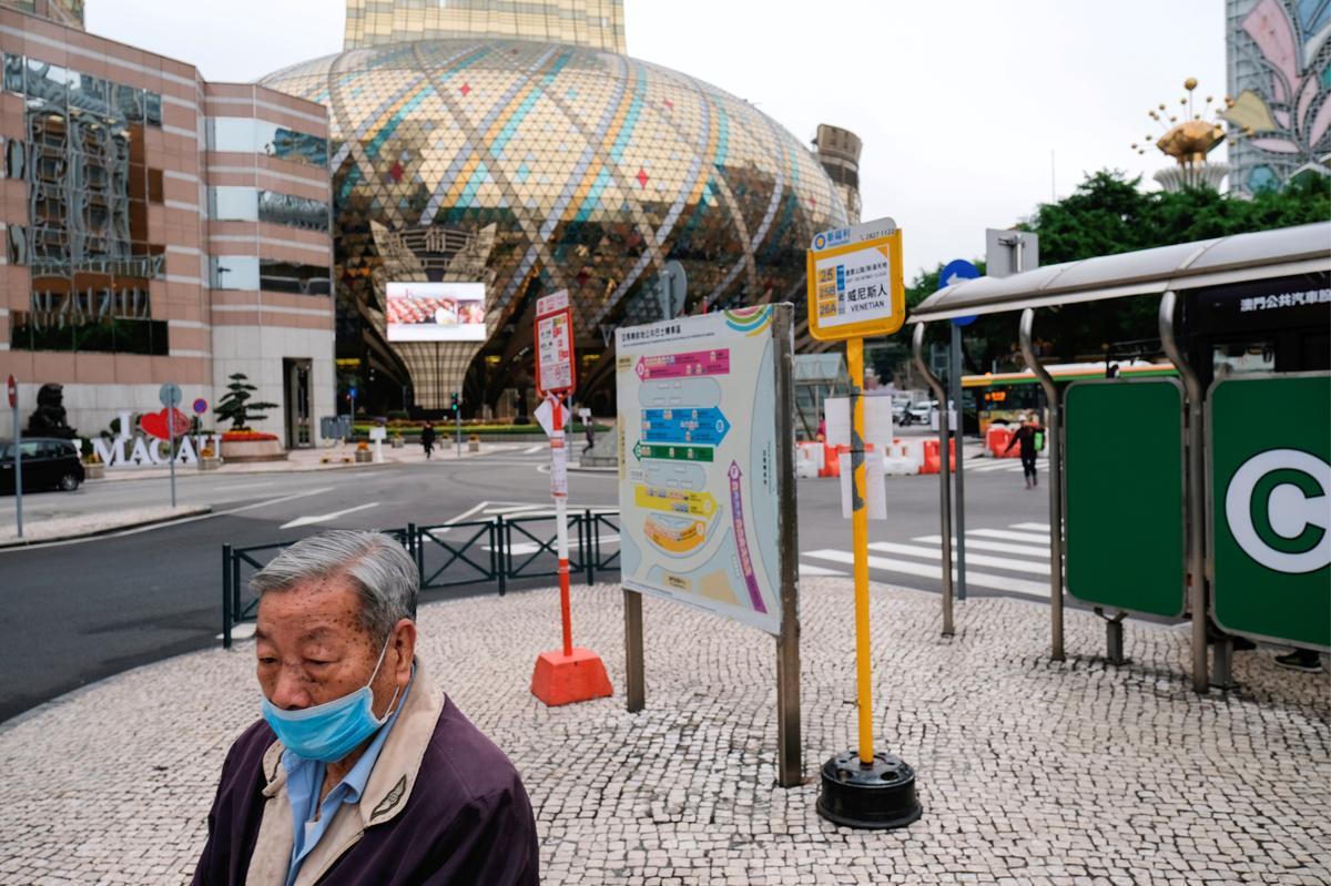 Macau's gaming revenues tumble 94.5% in July on coronavirus impact