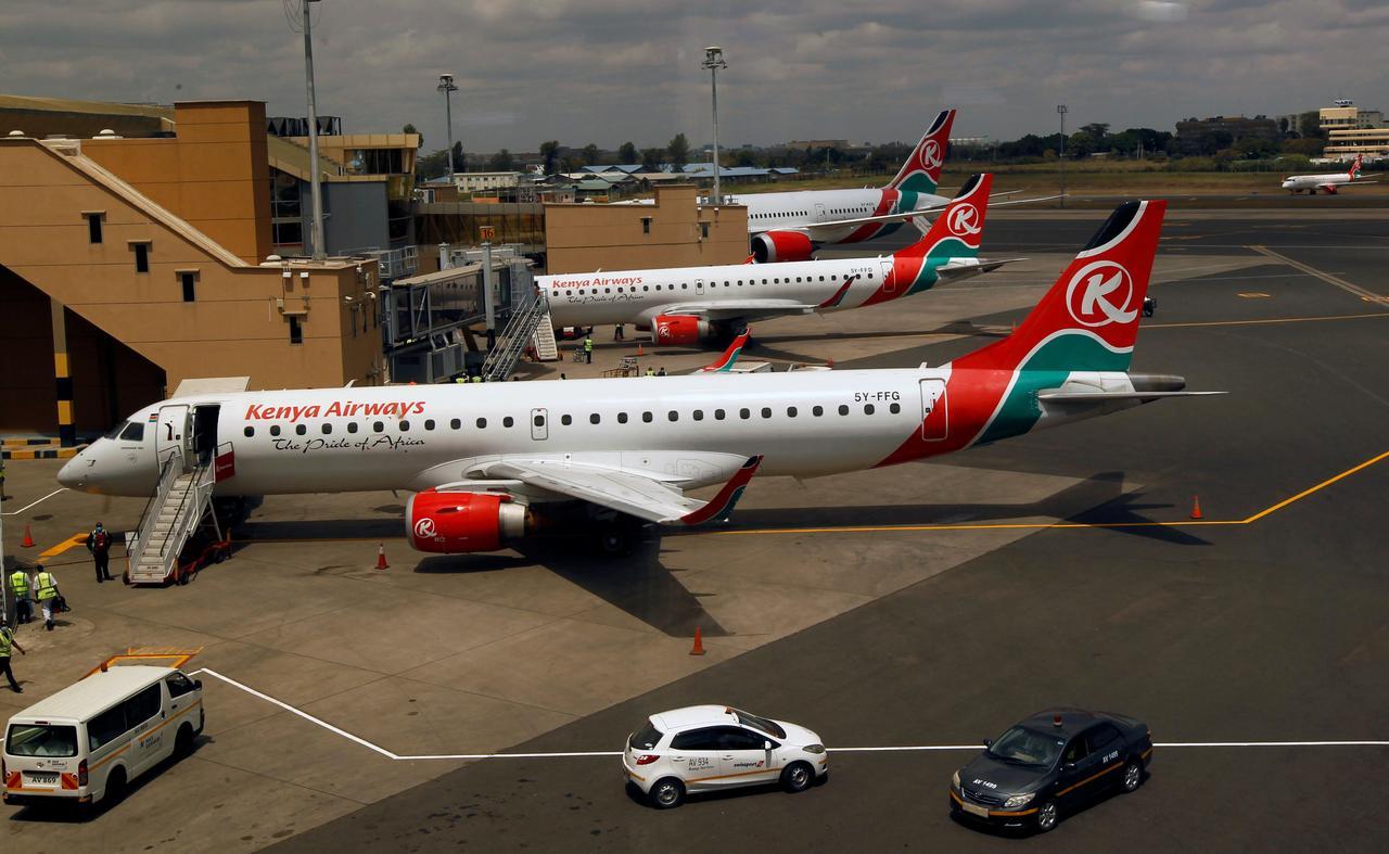 Kenya Airways resumes international flights after virus curbs ...