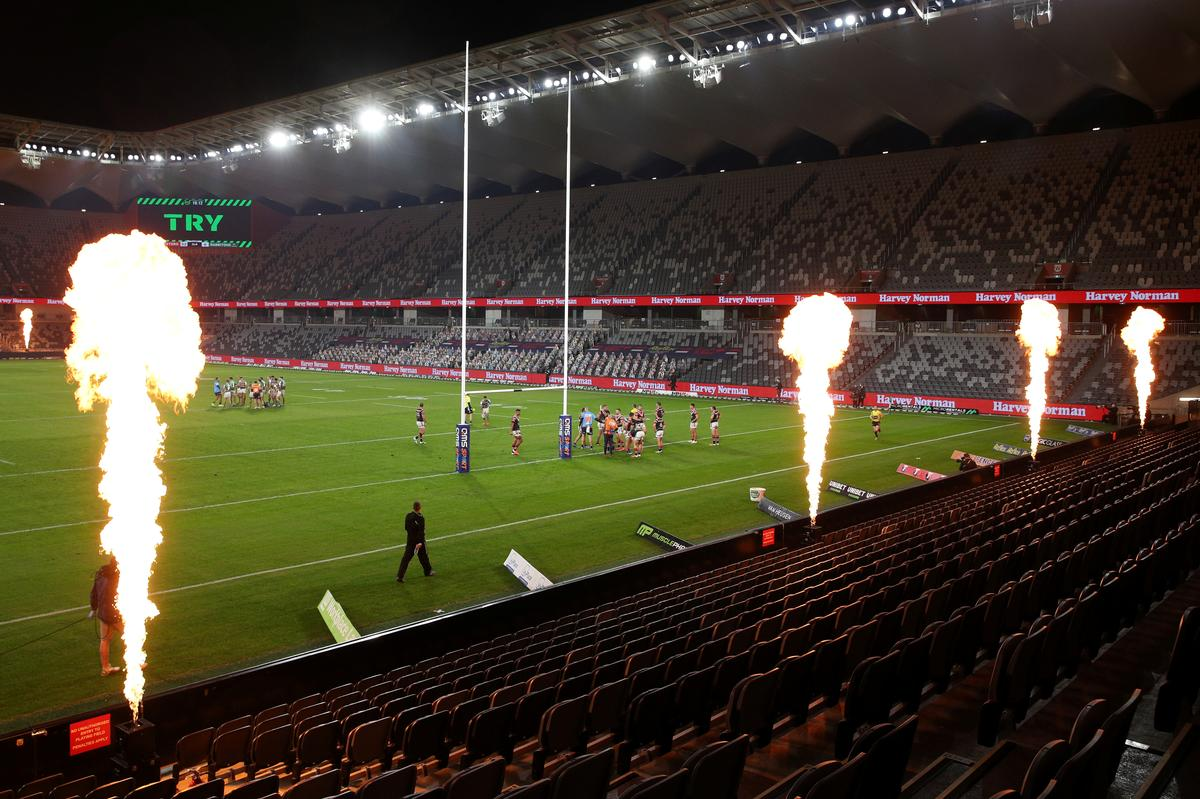 NRL to reduce Storm crowd size, basketball players test positive