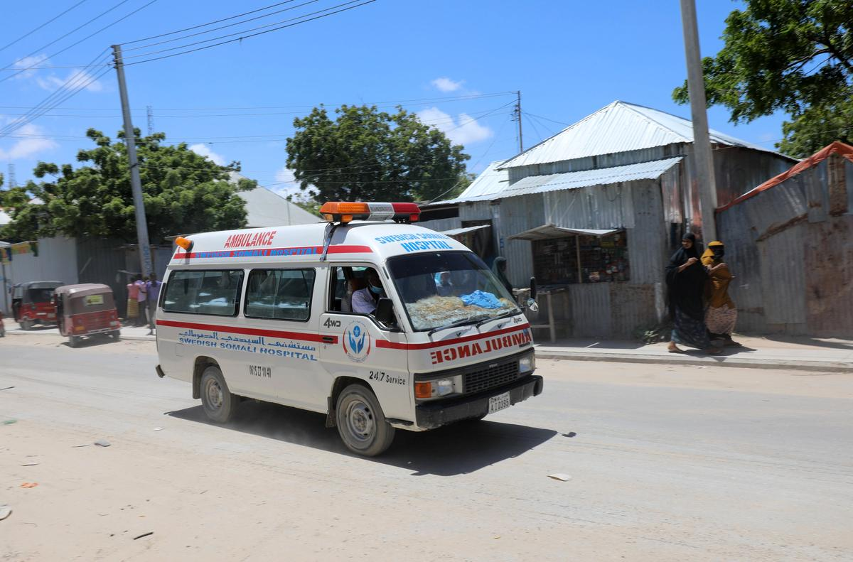 Blast rocks military base in Somali capital, at least eight dead