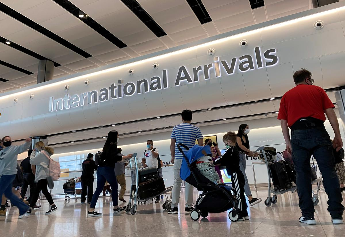 UK's Heathrow Airport passenger numbers down 88% amid ongoing travel restrictions