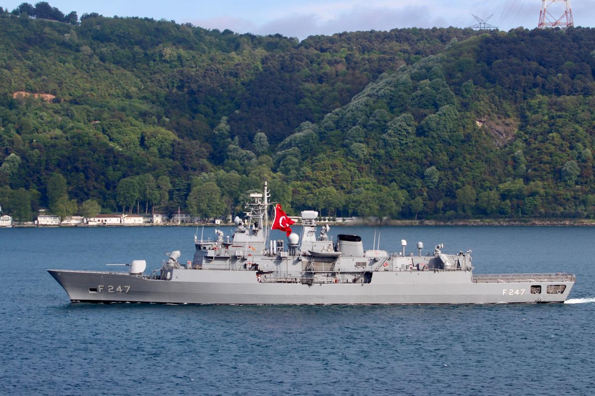 Greek and Turkish warships in 'mini collision': defence source