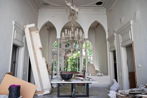 Inside fashion designer Elie Saab's gutted Beirut home