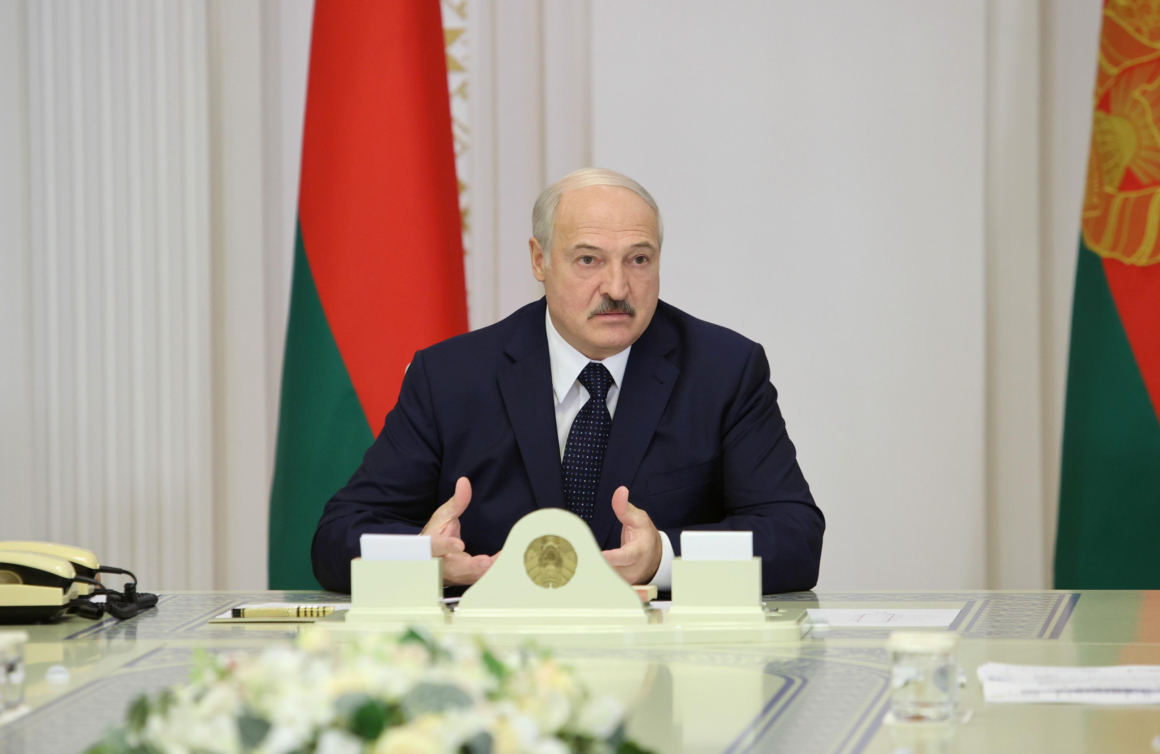 Baltic states impose sanctions on Lukashenko and other Belarus officials