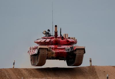 Nations flex military might at International Army Games