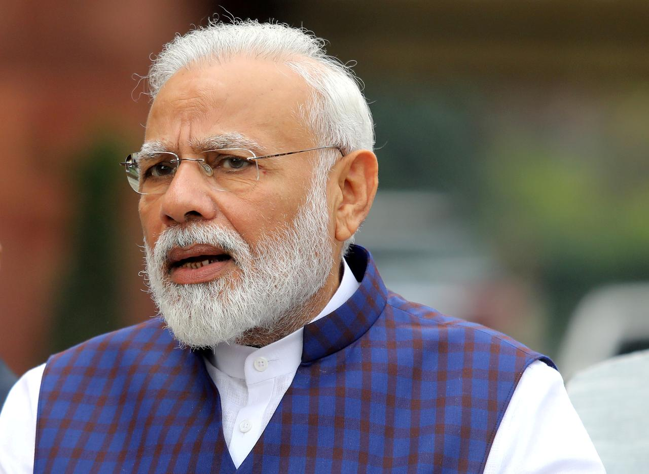 Twitter confirms account of India PM Modi's personal website hacked -  Reuters