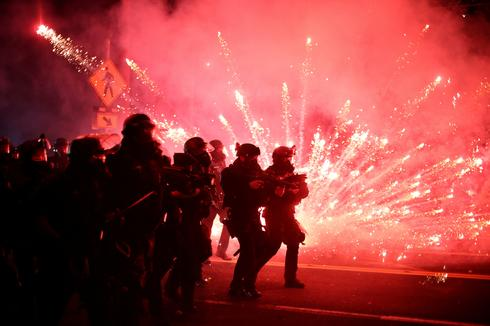 Federal troops and street battles: 100 days of Portland protests