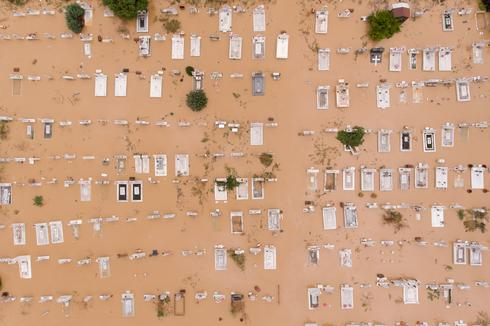 Rare Mediterranean hurricane batters Greece