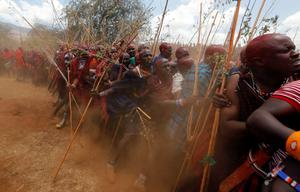 Kenya's Maasai gather for ceremony to turn warriors into elders
