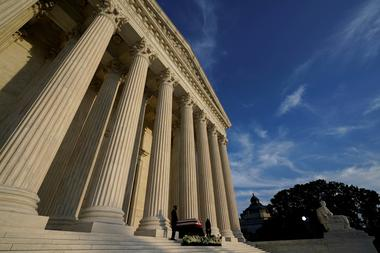 Cloud Computing: Justice Ruth Bader Ginsburg lies in repose at the U.S. Supreme Court...