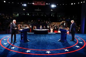 Trump and Biden face off in final presidential debate
