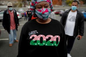 Early voting surges ahead of 2020 election